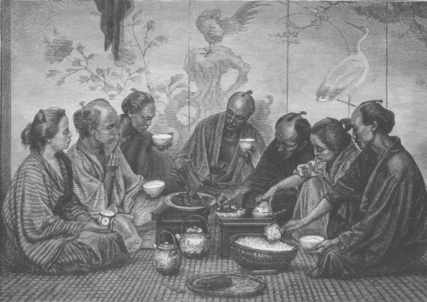 japan-japanese-family-at-dinner-antique-print-1892-200202-p